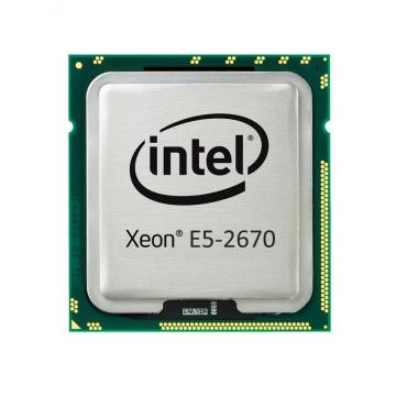 Intel Xeon 8C Processor Model E5-2670 115W 2.6GHz/1600MHZ/20MB W/Fan 94Y6602