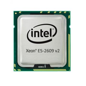 Intel Xeon E5-2609v2 2.5GHz, 10M Cache, 6.4GT/s QPI, No Turbo, 4C, 80W